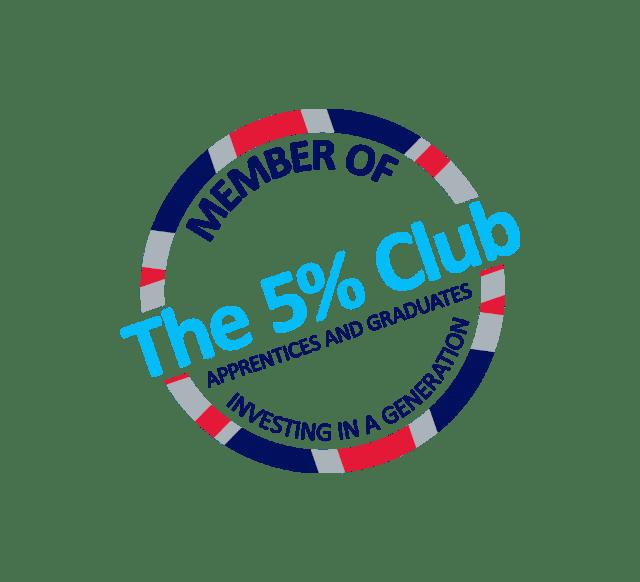 The 5% Club logo
