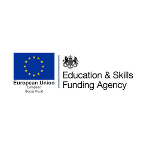 EU social fund and funding agency combined logo