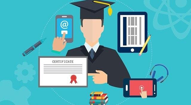 online training graphic