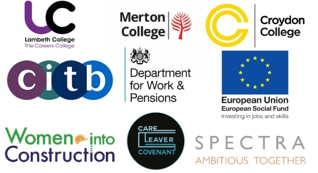A banner comprised of the logos of our various partner agencie