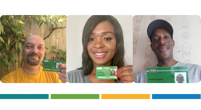 Sample CSCS Green Card